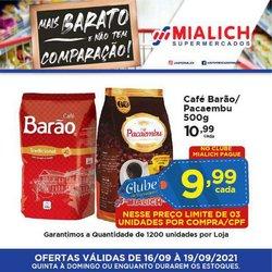 Ofertas de Mialich Supermercados no catálogo Mialich Supermercados (  Vence hoje)