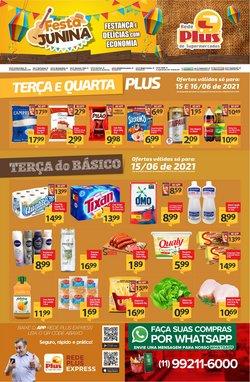 Ofertas de Supermercados no catálogo Rede Plus Supermercados (  Válido até amanhã)