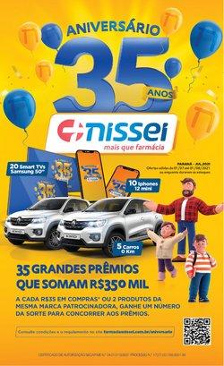 Ofertas de Farmácias e Drogarias no catálogo Farmácias Nissei (  7 dias mais)