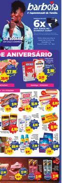 Ofertas de Supermercados no catálogo Barbosa Supermercados (  Vence hoje)