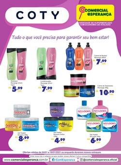Ofertas Supermercados no catálogo Comercial Esperança em São Bernardo do Campo ( 3 dias mais )