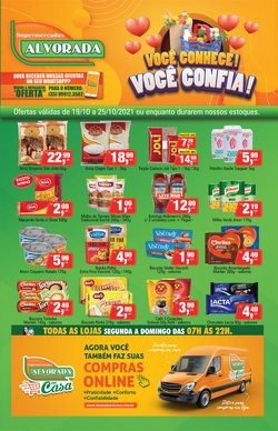 Ofertas de Supermercados Alvorada no catálogo Supermercados Alvorada (  4 dias mais)