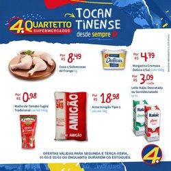 Catálogo Quartetto Supermercados ( Vencido )