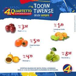 Catálogo Quartetto Supermercados ( Vence hoje )
