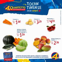 Ofertas de Quartetto Supermercados no catálogo Quartetto Supermercados (  Vence hoje)