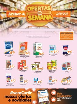 Ofertas de Supermercados Archer no catálogo Supermercados Archer (  3 dias mais)