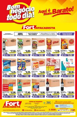 Catálogo Fort Atacadista em Joinville ( Publicado ontem )