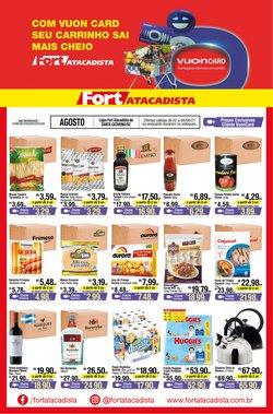 Ofertas de Supermercados no catálogo Fort Atacadista (  Publicado ontem)