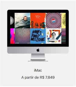 Promoção de Apple no folheto de São Paulo