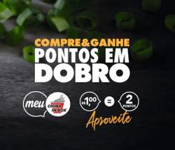 Cupom China in Box em Araraquara ( 7 dias mais )