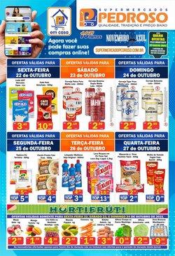 Ofertas de Supermercados Pedroso no catálogo Supermercados Pedroso (  Vence hoje)