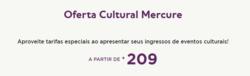 Promoção de Viagens, passeios, turismo no folheto de Mercure em Recife