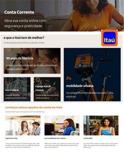 Ofertas Bancos e Serviços no catálogo Itaú em Rio Verde ( Mais de um mês )