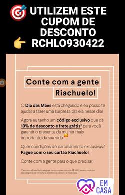 Cupom Riachuelo ( 9 dias mais )
