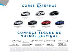 Promoção de Pneus no folheto de Toyota em Uberlândia