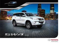Promoção de Automóveis no folheto de Toyota em Uberlândia