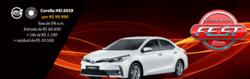 Promoção de Automóveis no folheto de Toyota em Jequié