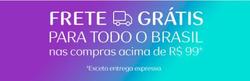 Promoção de Natura no folheto de São Paulo