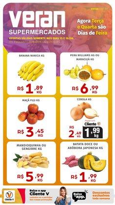Ofertas de Supermercados no catálogo Veran Supermercados (  Válido até amanhã)