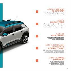Promoção de Pneus no folheto de Citroën em São Paulo