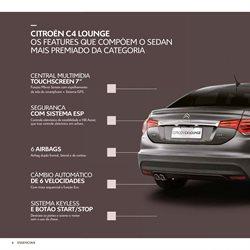 Promoção de Gps no folheto de Citroën em Belém