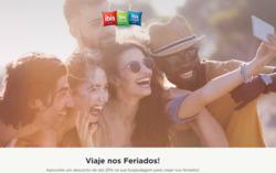 Promoção de Viagens, passeios, turismo no folheto de Ibis em Magé