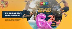 Promoção de Viagens, passeios, turismo no folheto de Ibis em São Caetano do Sul