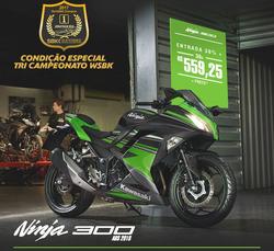 Promoção de Kawasaki no folheto de São Paulo