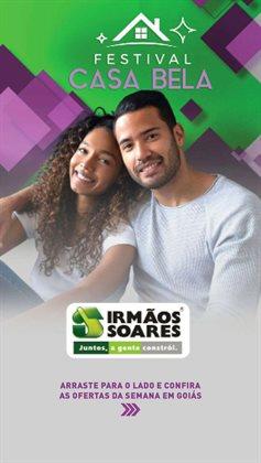 Ofertas Material de Construção no catálogo Irmãos Soares em Goiânia ( Vence hoje )