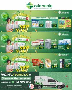 Ofertas de Farmácias Vale Verde no catálogo Farmácias Vale Verde (  Publicado ontem)