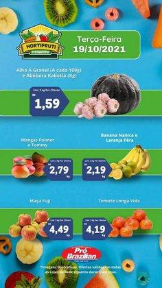 Ofertas de Supermercados Pró Brazilian no catálogo Supermercados Pró Brazilian (  Vence hoje)