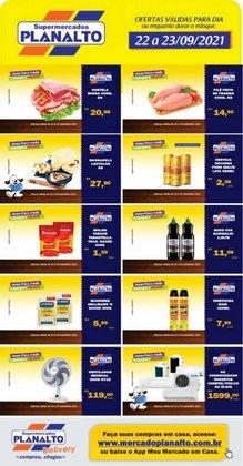 Ofertas de Supermercados Planalto no catálogo Supermercados Planalto (  Vence hoje)