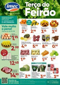 Ofertas de Supermercados no catálogo Imec Supermercados (  Vence hoje)