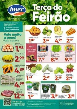 Ofertas de Imec Supermercados no catálogo Imec Supermercados (  Vence hoje)