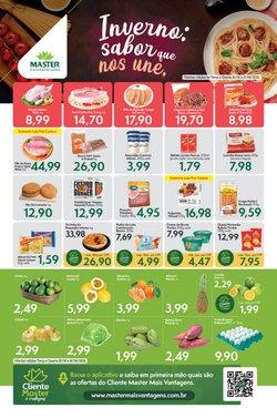 Ofertas de Supermercados no catálogo Master Supermercados (  Publicado ontem)