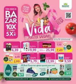Ofertas de Master Supermercados no catálogo Master Supermercados (  10 dias mais)