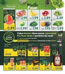 Ofertas de Supermercados no catálogo Master Supermercados (  Vence hoje)