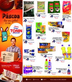 Ofertas Supermercados no catálogo Tonin Superatacado em Ribeirão Preto ( Válido até amanhã )