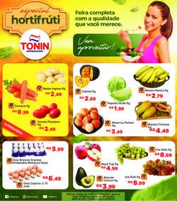 Ofertas de Supermercados no catálogo Tonin Superatacado (  Publicado hoje)