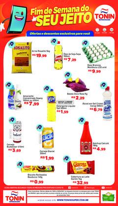 Ofertas de Supermercados no catálogo Tonin Superatacado (  Válido até amanhã)