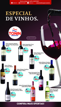 Catálogo Tonin Superatacado (  Vence hoje)
