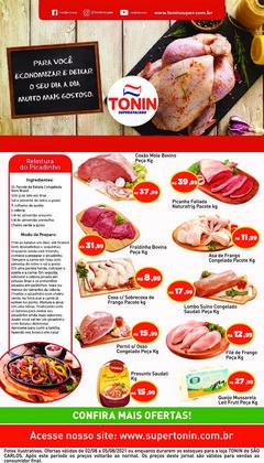 Ofertas de Supermercados no catálogo Tonin Superatacado (  Vence hoje)