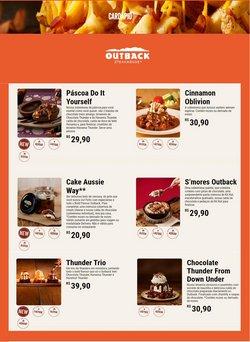 Ofertas Restaurantes no catálogo Outback em Jaboatão dos Guararapes ( Válido até amanhã )