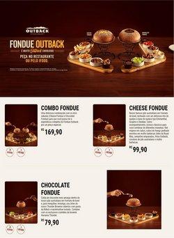 Ofertas de Outback no catálogo Outback (  4 dias mais)