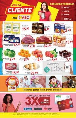 Ofertas de Supermercados ABC no catálogo Supermercados ABC (  Válido até amanhã)