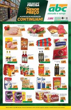 Catálogo Supermercados ABC (  Publicado ontem)
