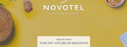 Promoção de Novotel no folheto de São Paulo