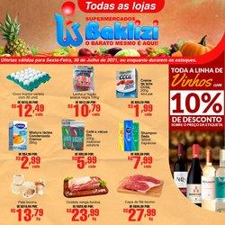 Ofertas de Supermercados Baklizi no catálogo Supermercados Baklizi (  Vence hoje)