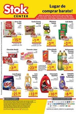 Ofertas de Supermercados no catálogo Stok Center (  11 dias mais)