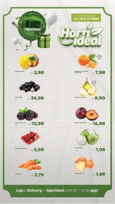 Catálogo Hiperideal Supermercados (  Publicado ontem)